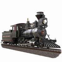 locomotive 1879 baldwin obj