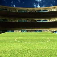 free stadium 3d model