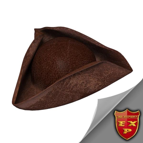 3dsmax pirate hat