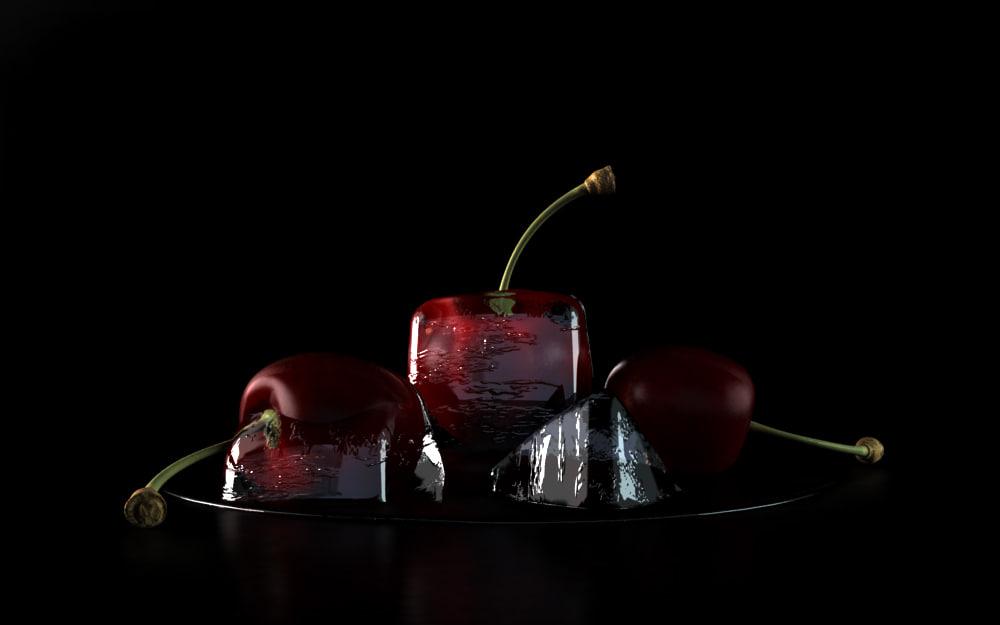 cherry ice 1 3d