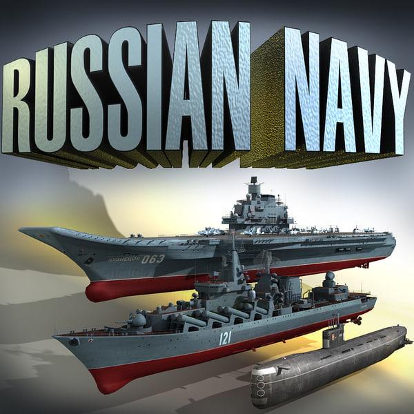 russian navy submarine 3ds