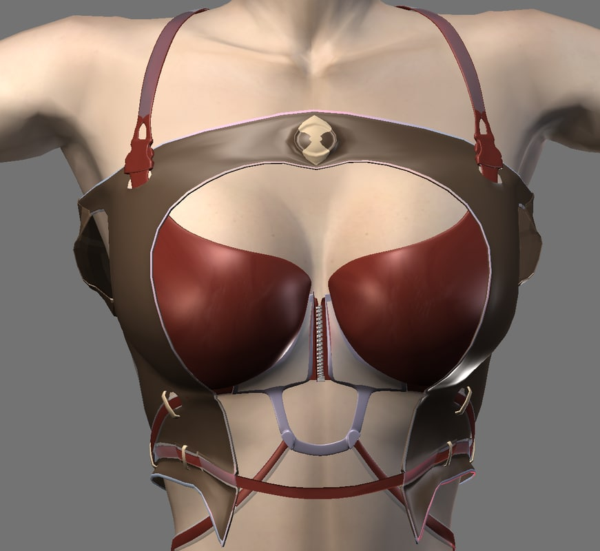 female clean mesh 3d 3ds