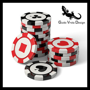 casino chips 3ds