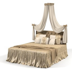 3d max classic bed cover