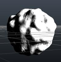 comet 3d model