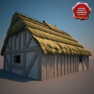 farm house 3d 3ds