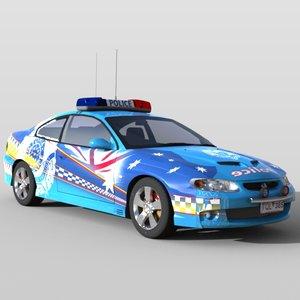 police car 3ds