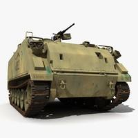 3d m2 m113 m113a3 version model