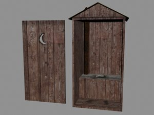 outhouse old west max