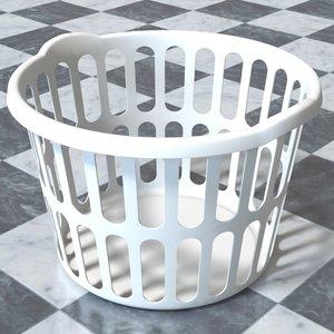 laundry hamper 3d model