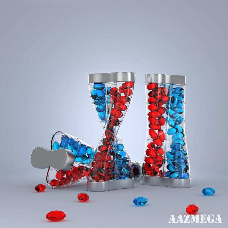 dna bottle softgel capsules max