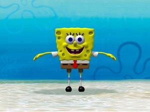 spongebob squarepants 3d lwo