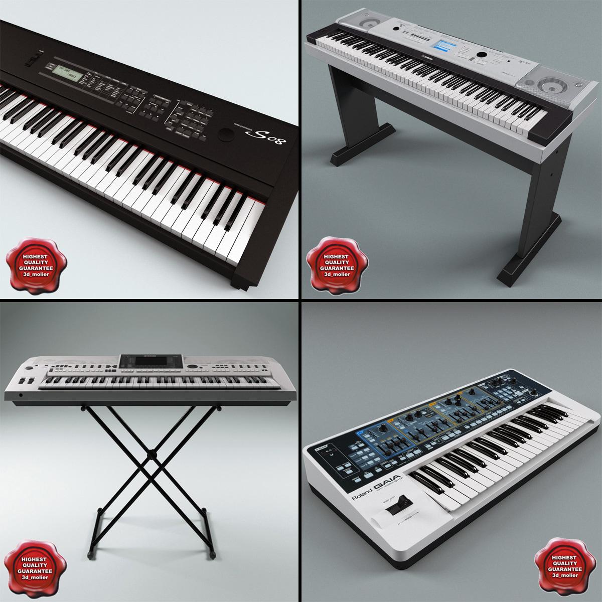 synthesizers set yamaha max