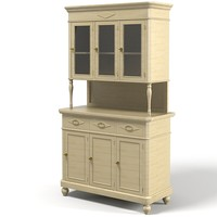 traditional classic country 3d model