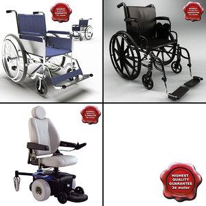 3d model wheelchairs v2