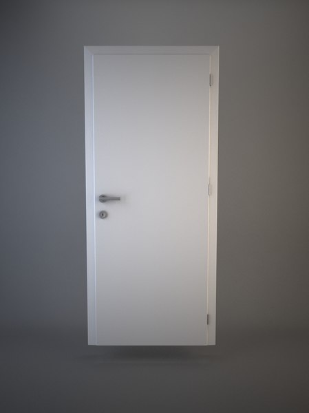 door doorframe 3d model