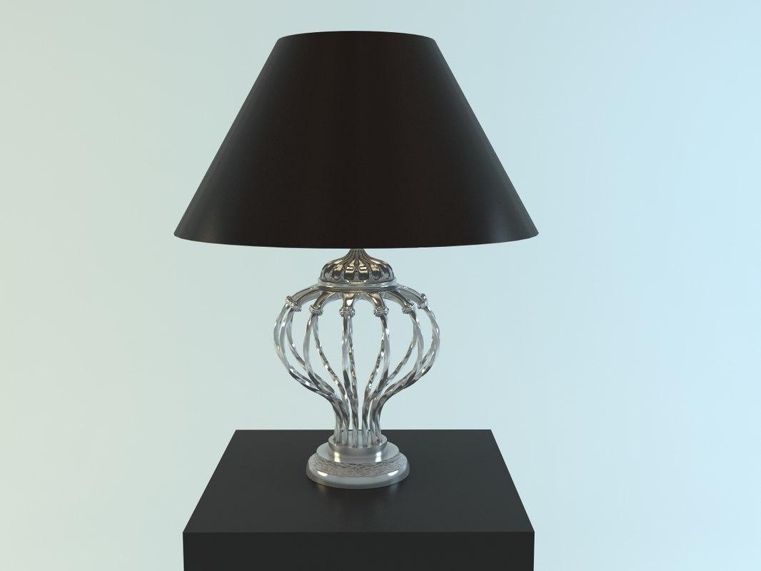 charrell eichholtz lamp 3ds