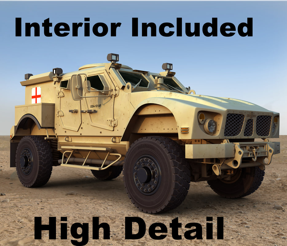 maya m-atv mrap military ambulance