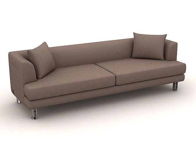 sofa s213c 3d model