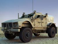 m-atv military vehicle 3d max