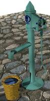 Garden Pump Vintage