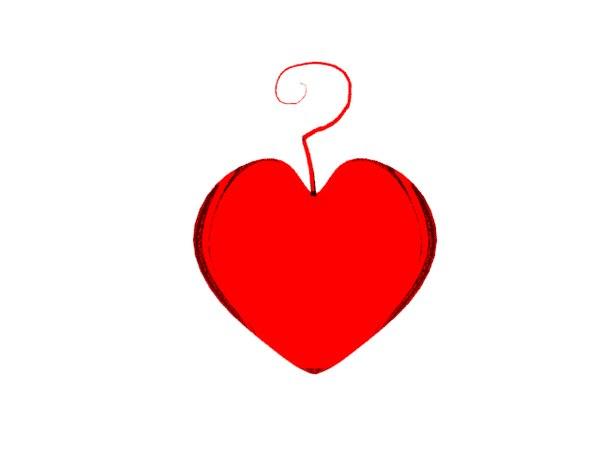 heart question 3d model