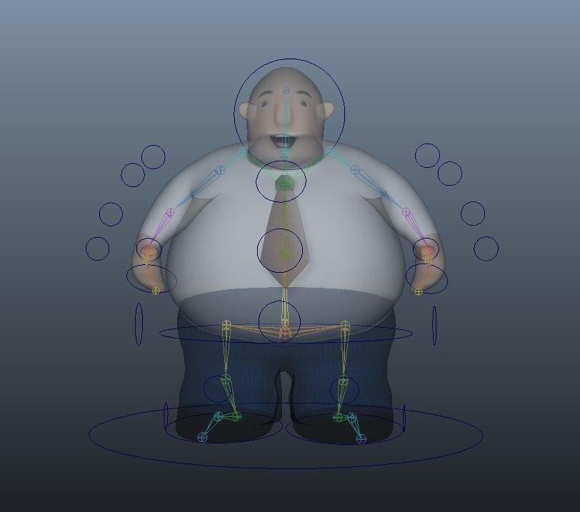 fat rig 3d fbx