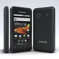samsung galaxy prevail 3d model