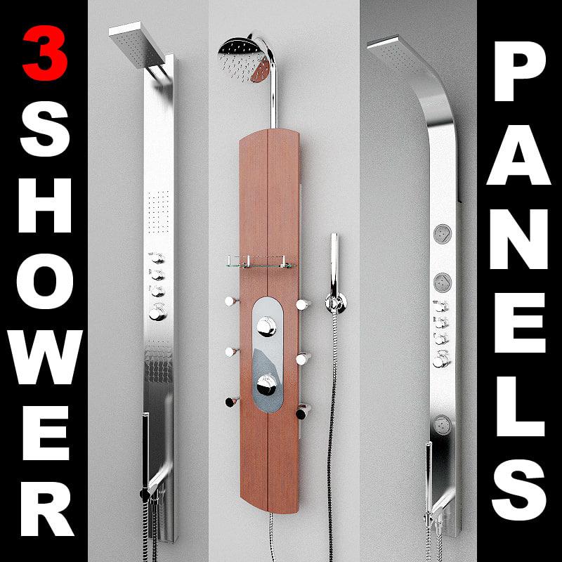 3d 3 shower