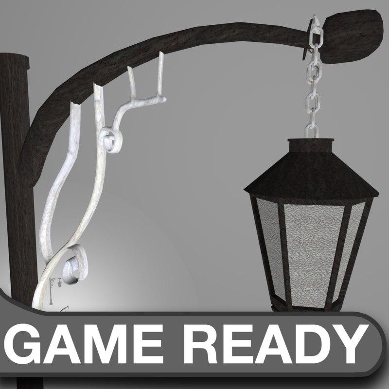 maya street lamp victorian