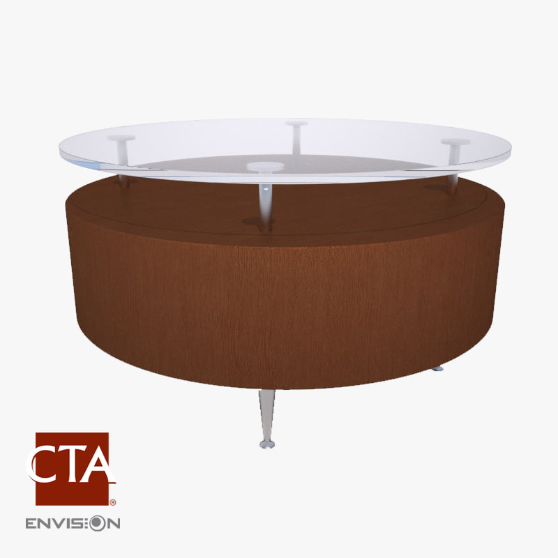 3d cocktail coffee table