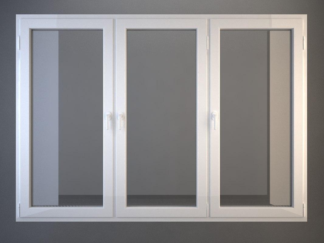 plastic window 3d 3ds