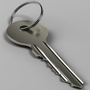 3d model key 01
