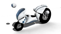 3ds max bio scooter