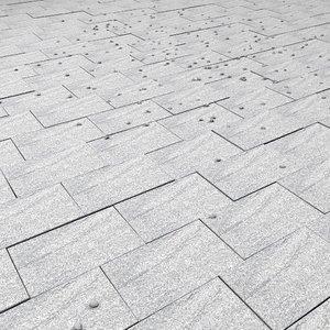 marble floor square 3d model