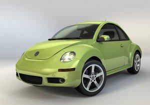 new beetle 3d blend
