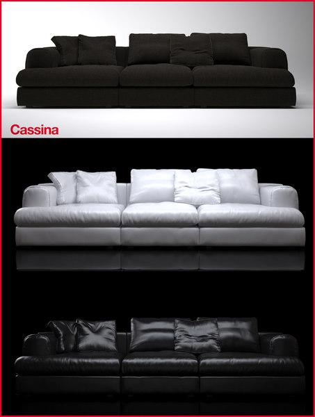 cassina 192 193 miloe 3d max