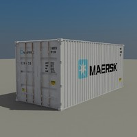 Cargo container Maersk