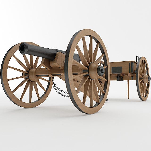 3ds napoleon 6 pounder
