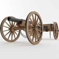 3ds napoleon 6 pounder