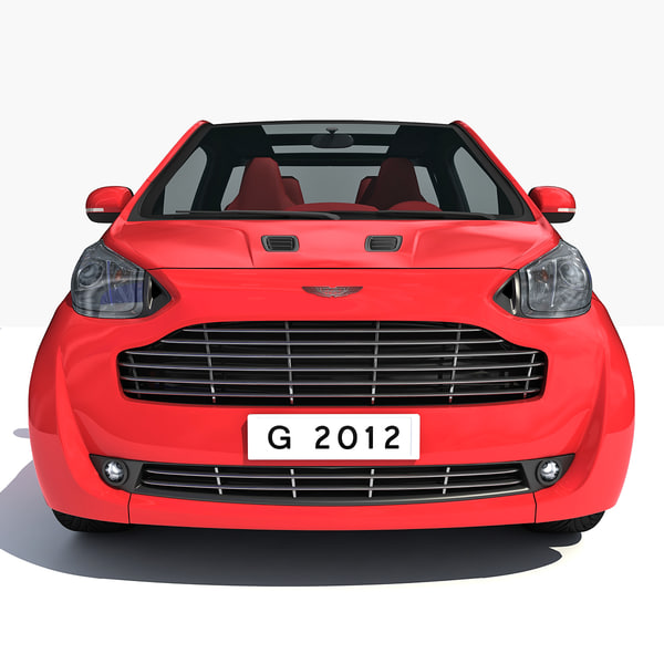 3d model aston martin cygnet car