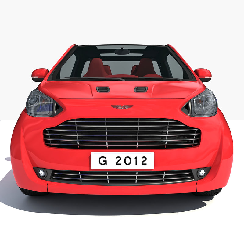 3d model aston martin cygnet car