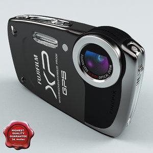 fujifilm finepix xp30 black 3d 3ds