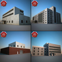 3ds max industrial buildings