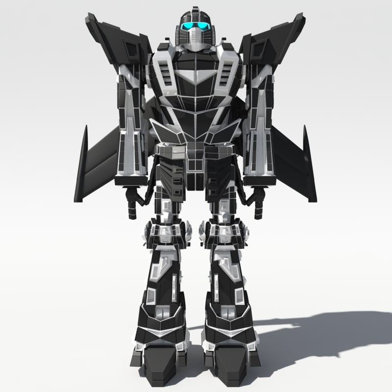 Anime Robot: Maya Japanese Robot Mech Anime