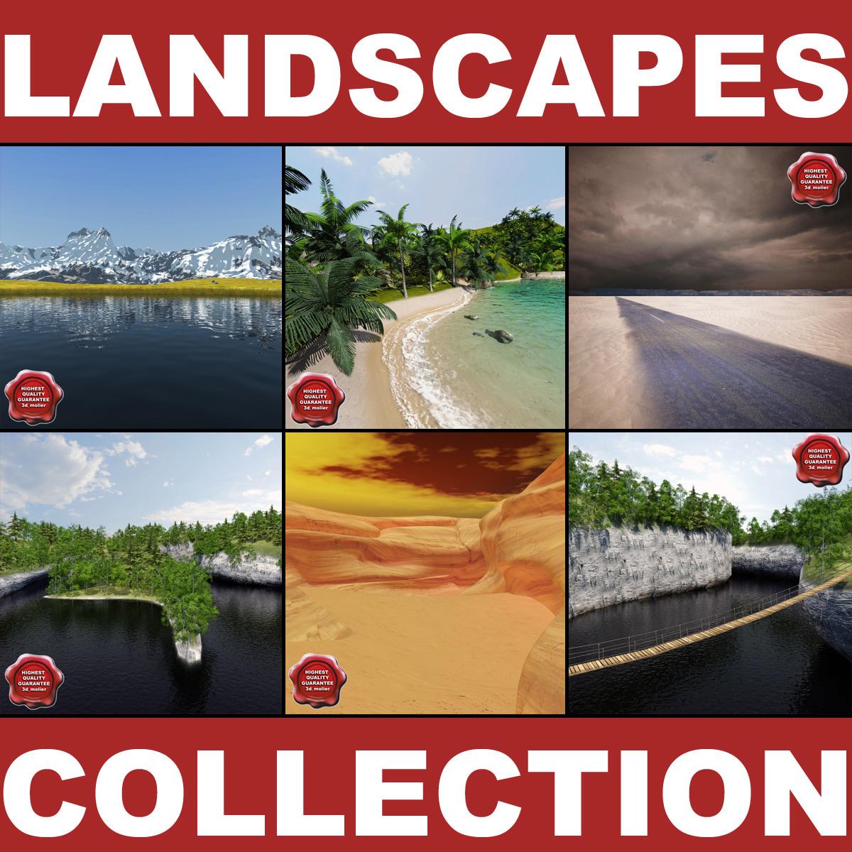 3ds max landscapes v2