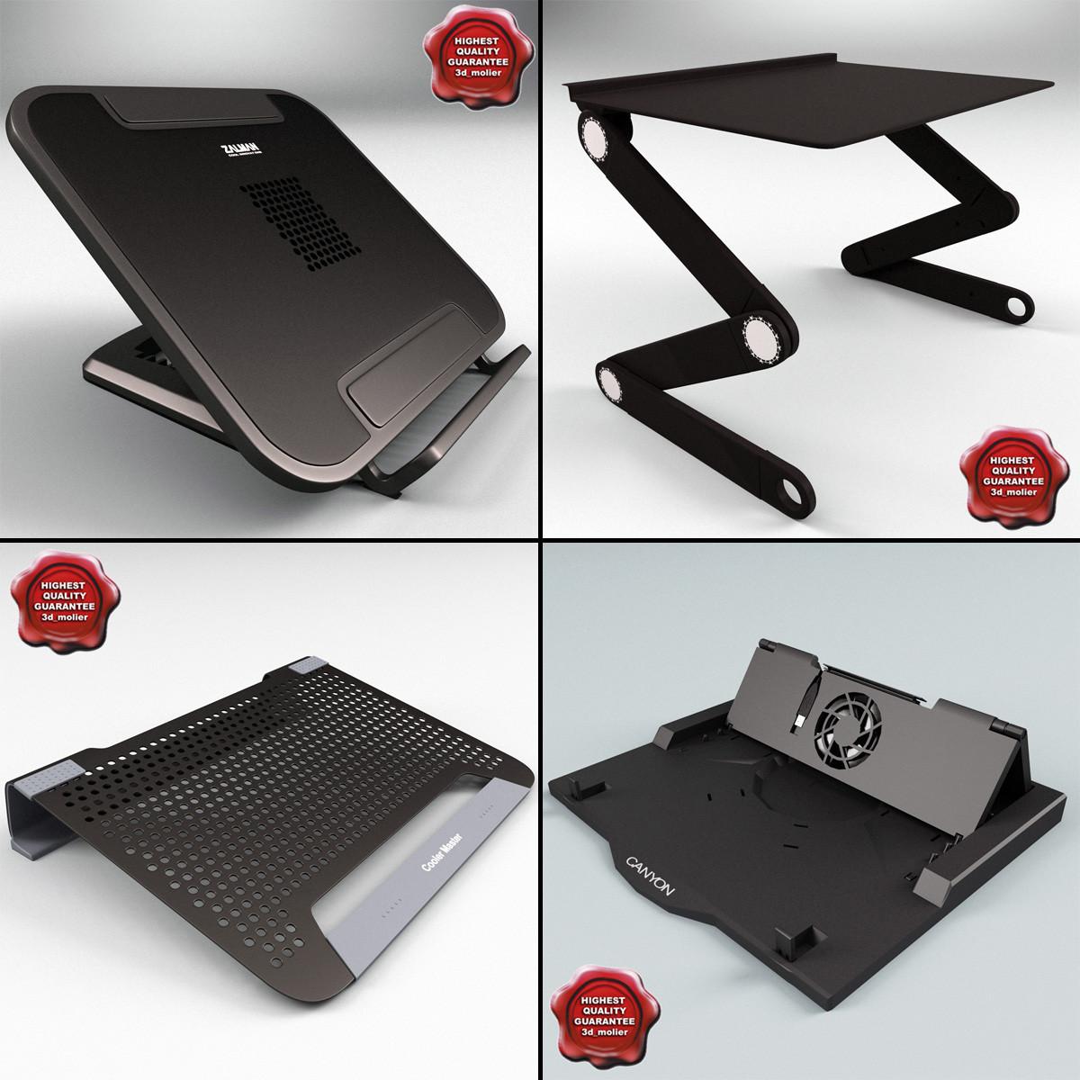 3d laptop stands