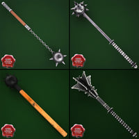 Medieval Maces Collection V1