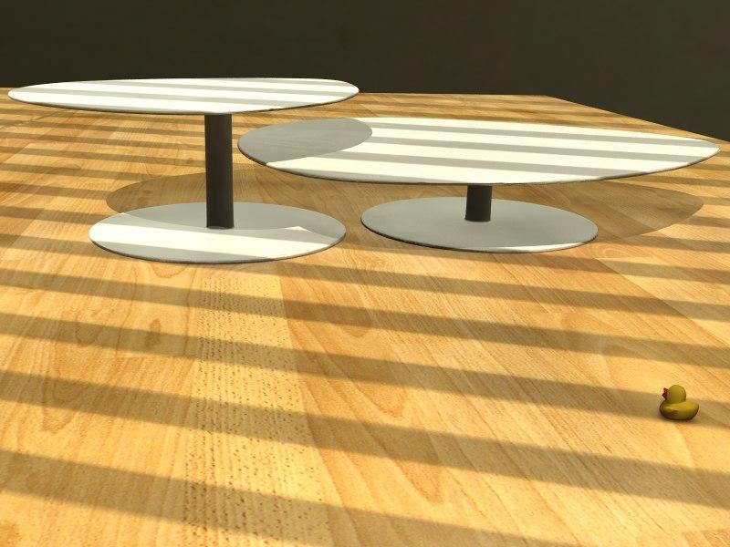 tables livingroom office 3d obj