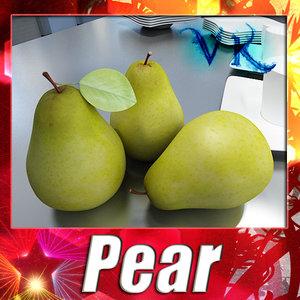 pear resolution 3d max